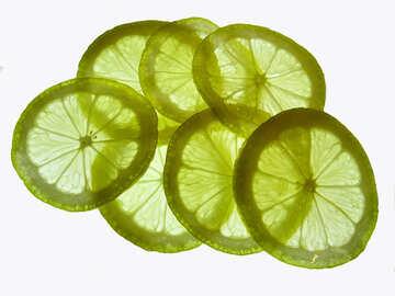 Texture lemon slices №16151