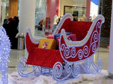 Christmas sleigh №16241