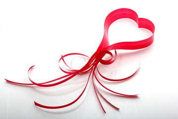 Валентинка красивая и простая №16337