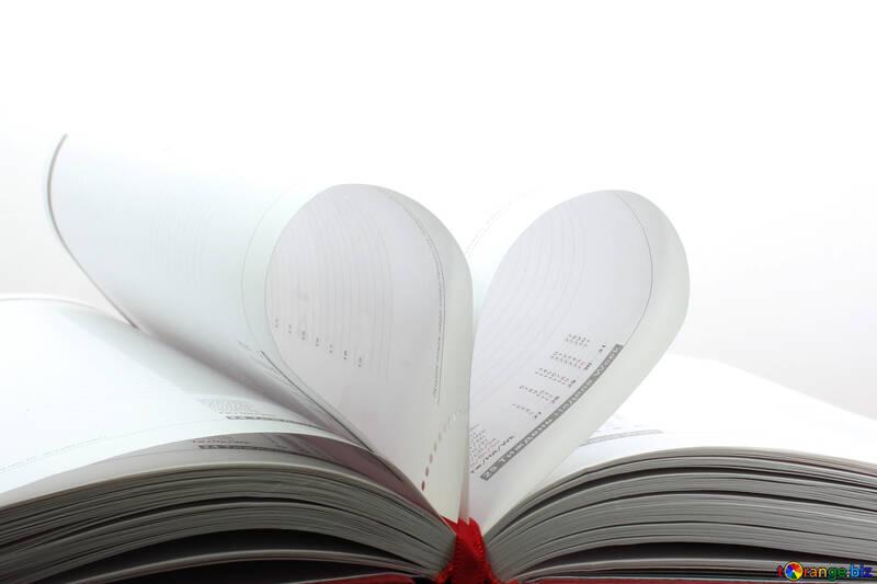 Book heart  №16072