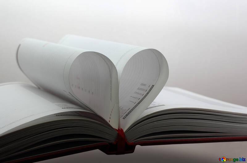 Book heart №16073