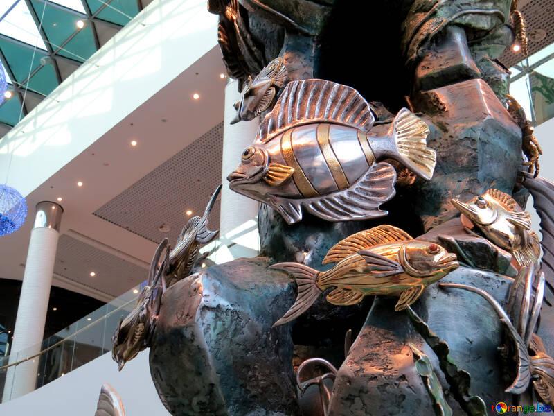 Metal de pescado №16563