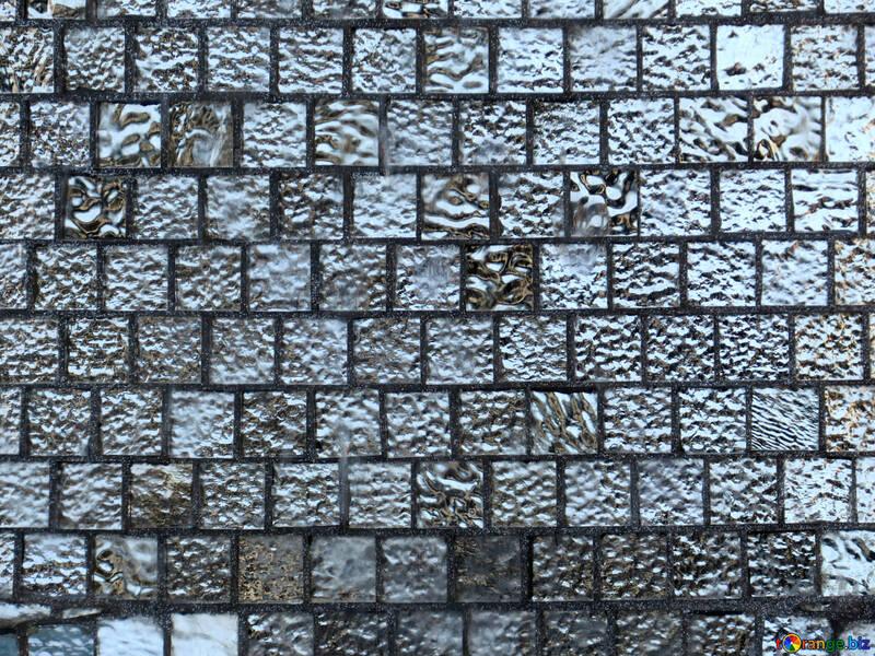 Texture mosaic glass №16588