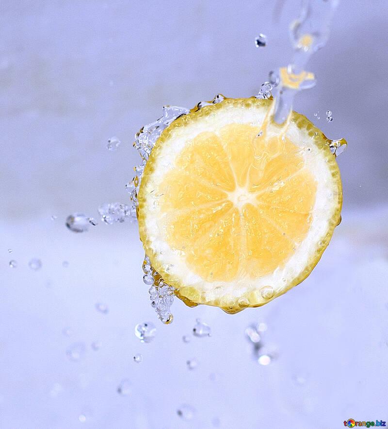 Fresh lemon №16176