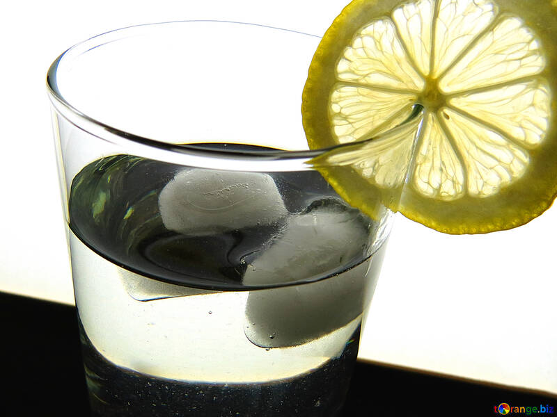 Cocktail with lemon №16129