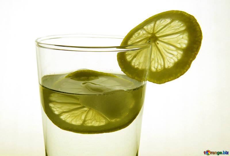 Lemon in glass №16127