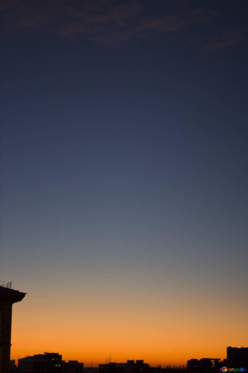 City sunset №16053