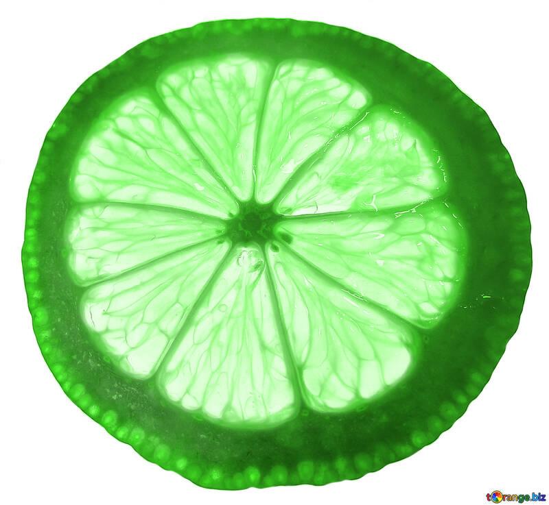 Texture slice of lemon №16165