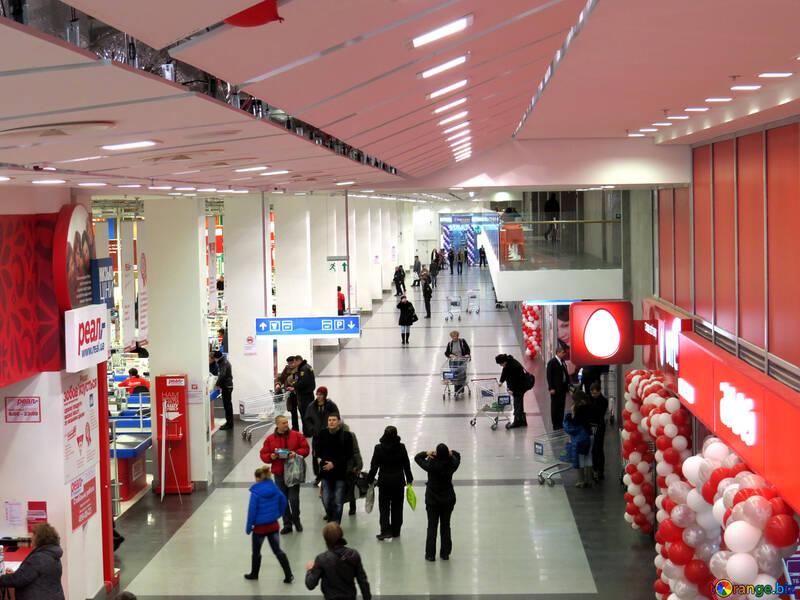 Shopper im Supermarkt №16290