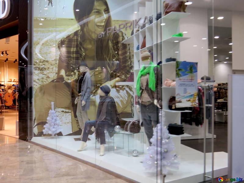 Showcase clothing store №16270