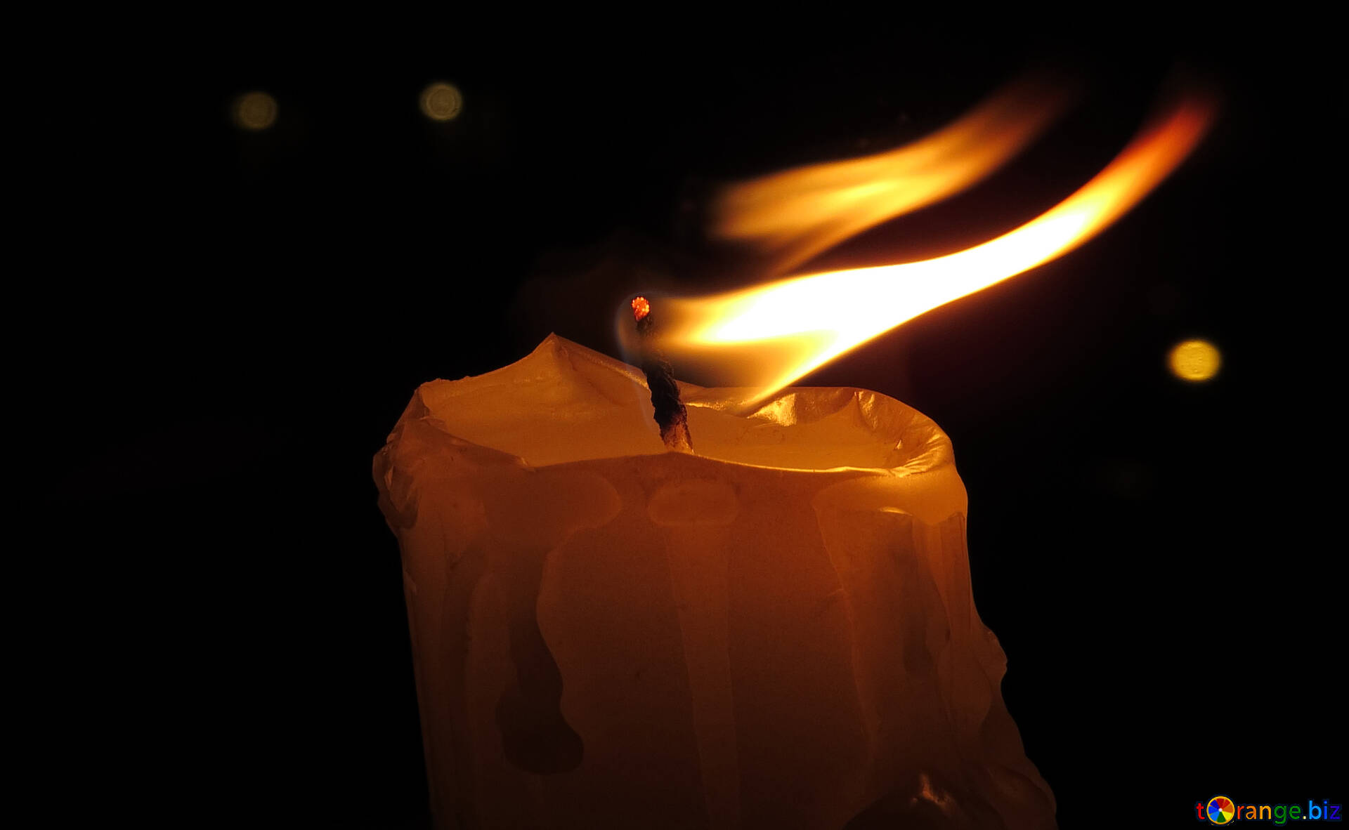 Burning Candles Candle In The Wind Candle 17398