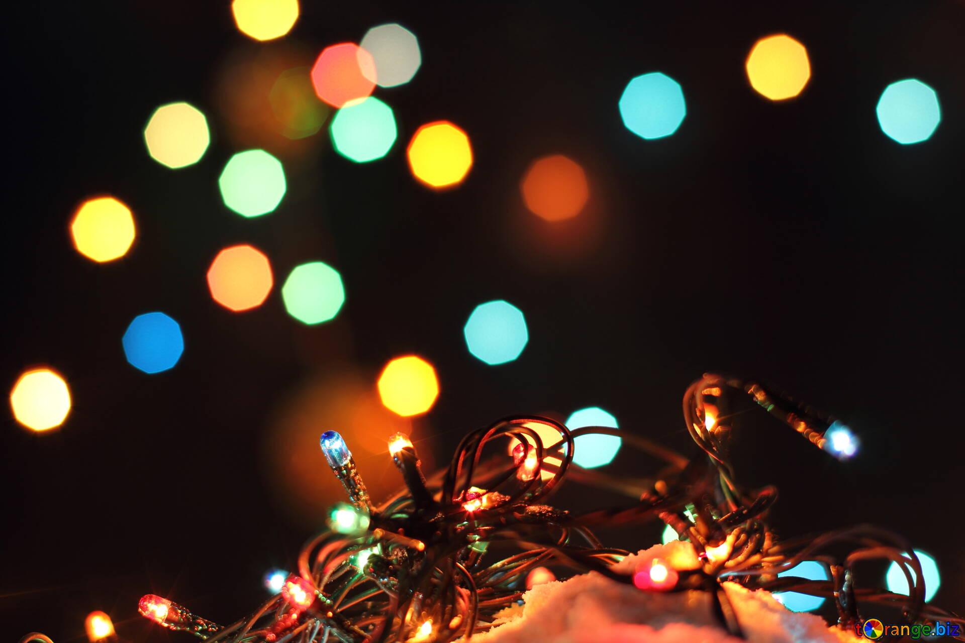 Картинки с огоньками новогодними, виталию