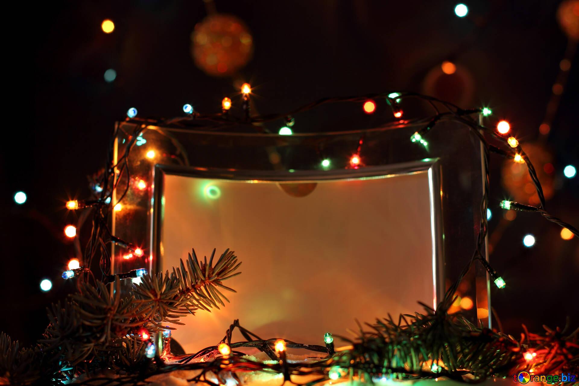 Weihnachtsbeleuchtung weihnachts fotorahmen licht № 17945