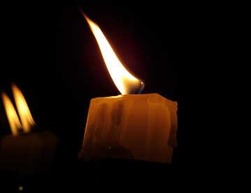 Paraffin-Kerze №17415