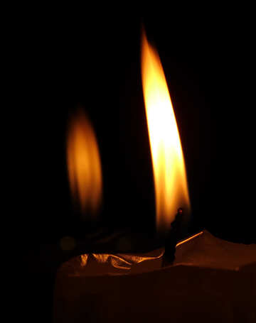 Candle flame №17410
