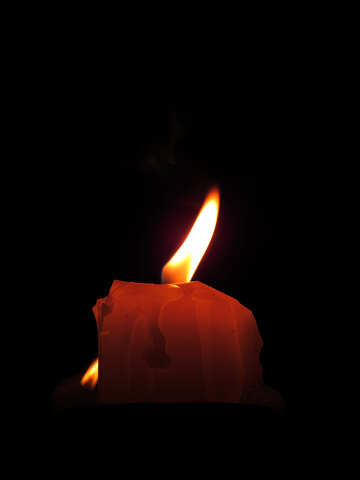 Candle flame №17418
