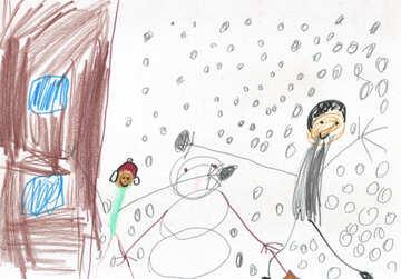 Verschneite Winterlandschaft №17281