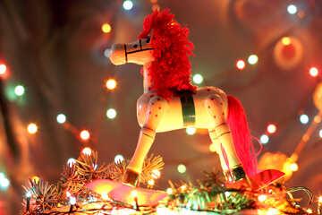 Рождественская лошадь №17938