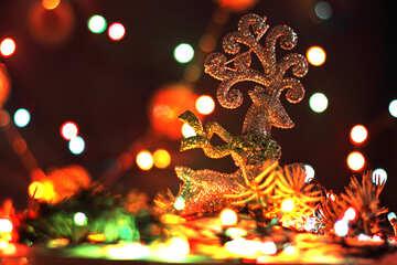 Christmas deer №17943