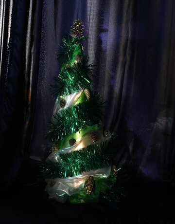 Дизайнерская новогодняя елка №17874