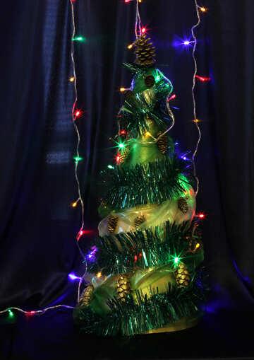 Самодельная новогодняя елка №17870