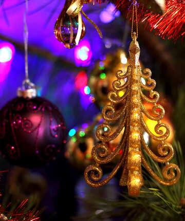 Ornament on Christmas tree №17990