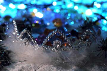 Корона снежной королевы №17903