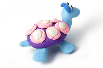 Turtle of clay №17289