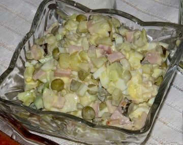 Olivier Salad  №17800