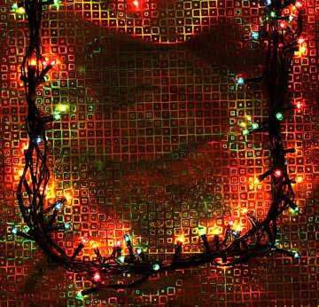 Garland of light bulbs №17923