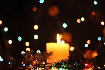 Праздничная свеча №17933