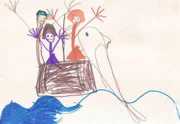 Menschen und Delphine №17268