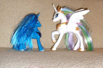 Handmade figurines pony №17756