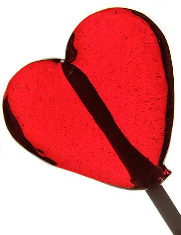 Caramel heart №17457