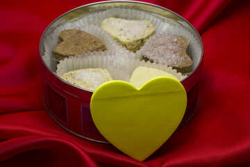 Cookies and heart №17601
