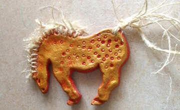 Decorative horse №17737