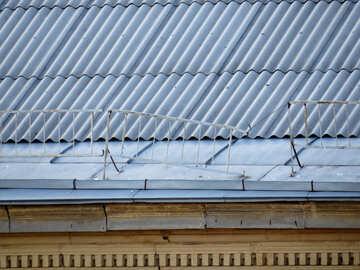 Un tetto rotto recinzione №17668