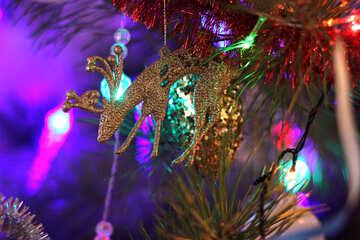 Christmas deer №17984