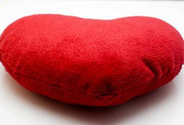 Pillow heart №17576