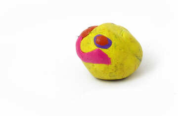 Plasticine bun №17342
