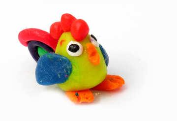 Plasticine cock №17305