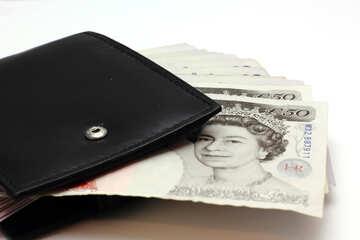 Pfund in der Brieftasche №17191