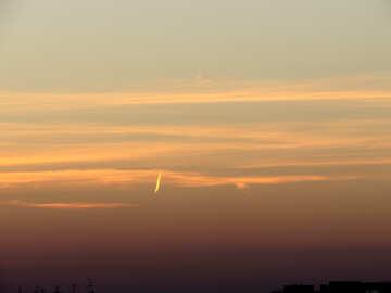 Streak in the sky №17658