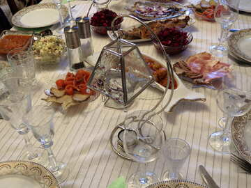 The holiday table №17769