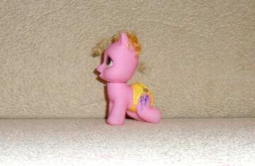 Baby toy pony №17760