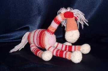 A homemade toy horse №17218