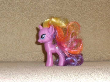 Small toy pony №17743