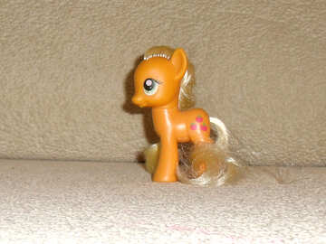 Small toy pony №17745