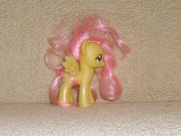 Small toy pony №17750