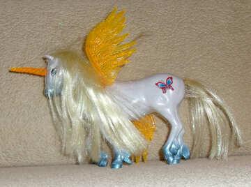 Toy unicorn №17740